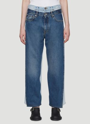 Maison Margiela Vintage Wash Jeans in Blue