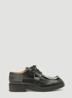 JW Anderson Derby Shoes in Black