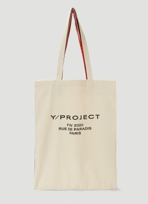 Y/Project Scarf Tote Bag in Beige