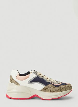 Gucci Rhyton Sneakers in Pink