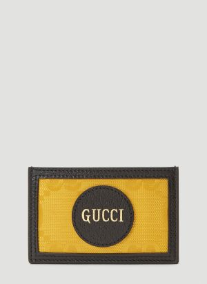 Gucci Eco-Nylon Card Holder in Yellow