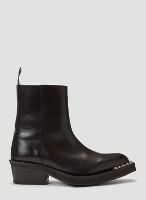 Eytys Romeo Leather Boots in Black