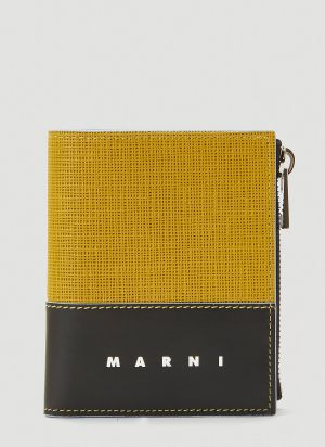 Marni Fold Wallet in Yellow