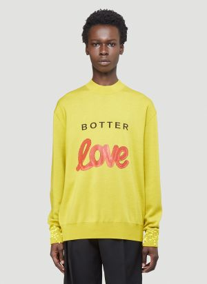 Botter Botter Love Sweater in Yellow
