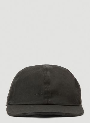 1017 ALYX 9SM Rollercoaster Buckle Baseball Cap in Black