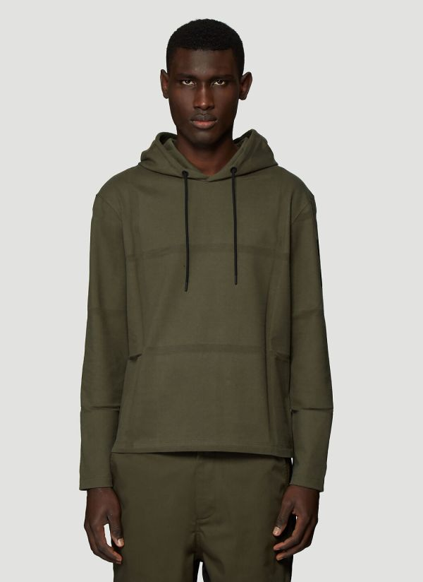 5 Moncler Craig Green Hooded Sweatshirt in Green