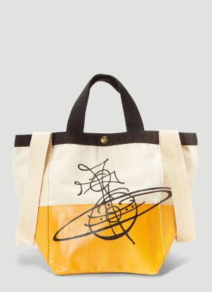 Vivienne Westwood Worker Runner Small Tote Bag in Yellow