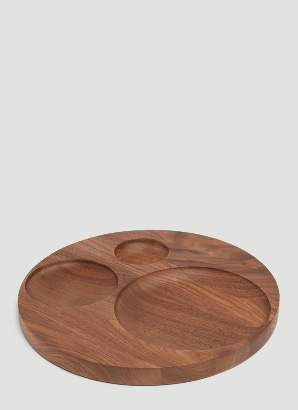 Tre Product Moln Wooden Tray in Brown