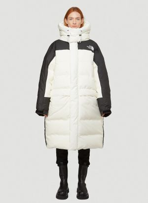 The North Face Black Series Oversized Puffer Coat in White