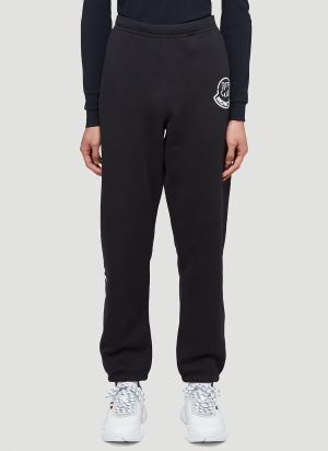 2 Moncler 1952 Undefeated Pants in Black