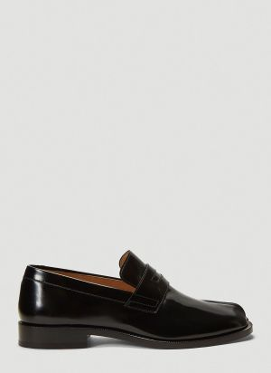 Maison Margiela Tabi Loafers in Black