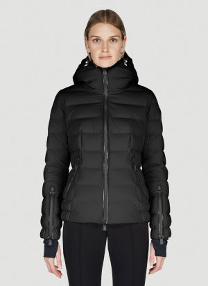 Moncler Grenoble Chena Down Jacket in Black