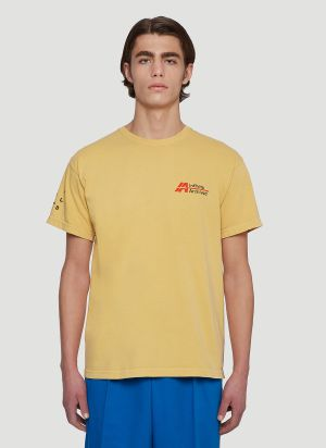 Infinite Archives x Tom Sachs Break The Cycle T-Shirt in Yellow