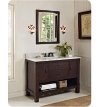 "Fairmont Designs 1506-VH48 Napa 48"" Open Shelf Modern ..."