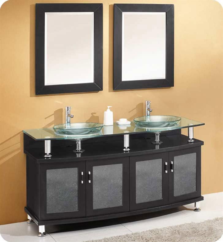 Fresca FVN3310ES Contento 59 Double Sink Modern Bathroom