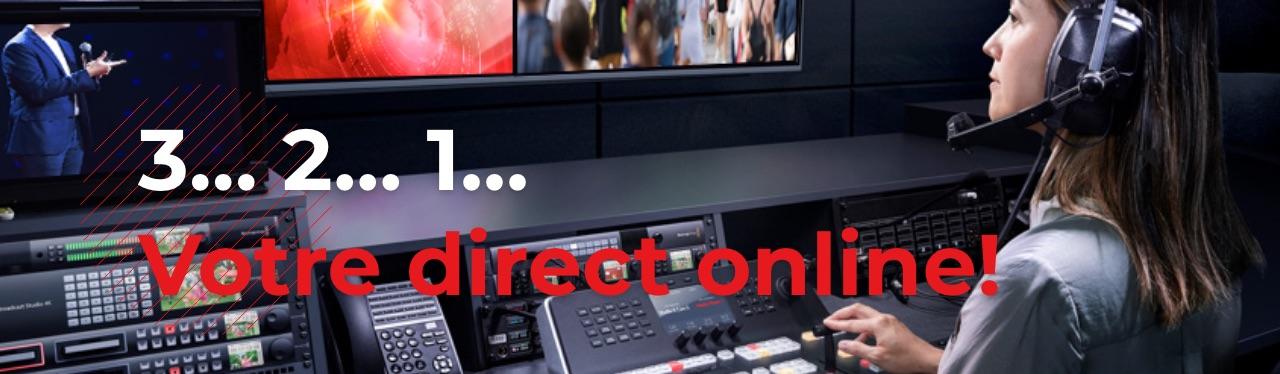 studio virtuel web conference de presse a distance