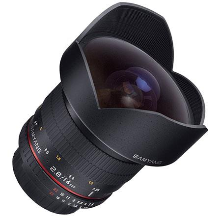 Samyang 14mm Ultra Wide-Angle f/2.8 IF ED UMC Manual Focus Lens