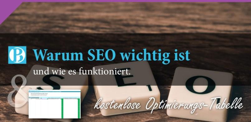 Warum Suchmaschinenoptimierung oder SEO für das Marketing wichtig ist und wie es funktioniert