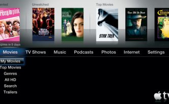 Apple TV movie rental image