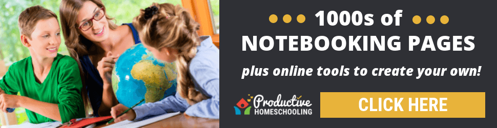 Productive Homeschooling - Printables and Tools for every homeschool