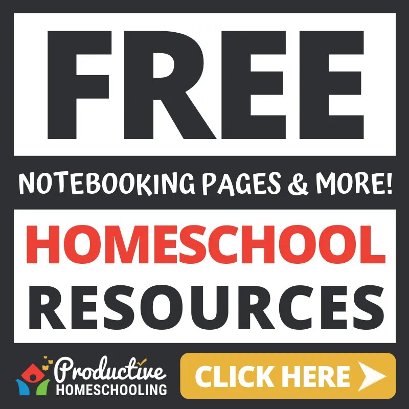 Free Homeschool Resources (Notebooking Pages & More!)