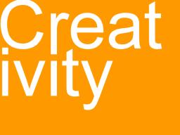 wasting words - creativity