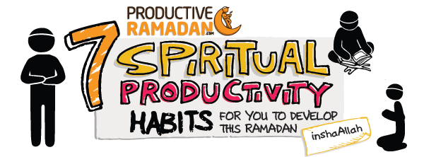 [Ramadan Doodles] 7 Spiritual Habits To Develop This Ramadan | ProductiveMuslim