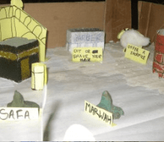 Hajj Diorama - Productive Muslim