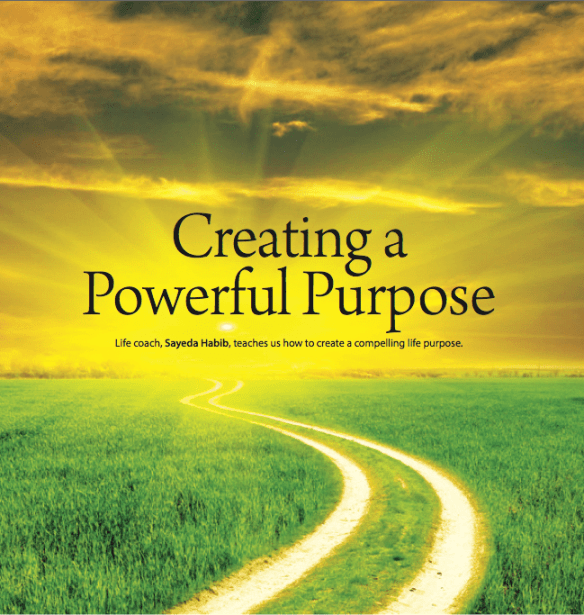 Creating A Powerful Purpose | Productive Muslim