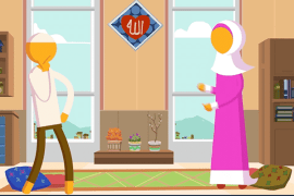 [Animation – Episode 3] Habits of Happy Productive Muslim Couples: They're The Comfort of Each Other's Eyes