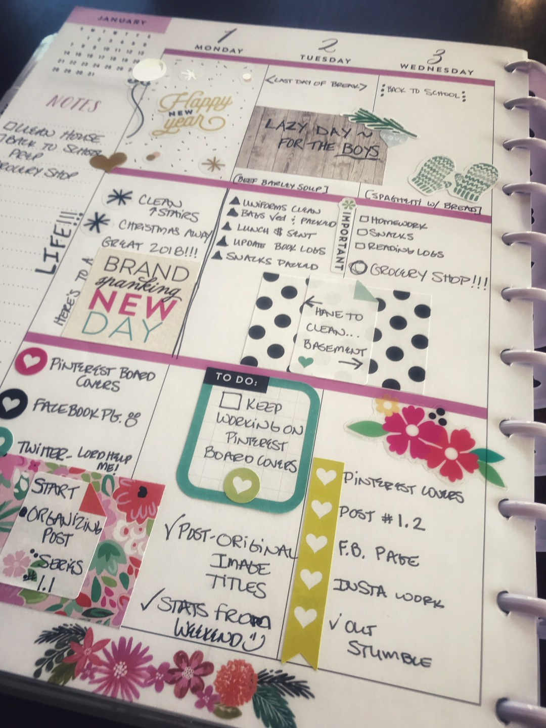 its time to achieve organization perfection with the happy planner take control of the chaos