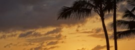 Sunset on Kauai, Hawaii. I lived here for 3 years.