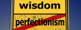 Freelance writers and book authors need to avoid perfectionism if they want to be productive and get their articles and books out to the world.