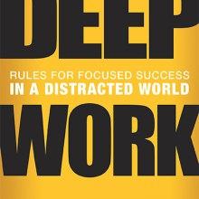 How Deep Work Makes You A Better and More Productive Writer