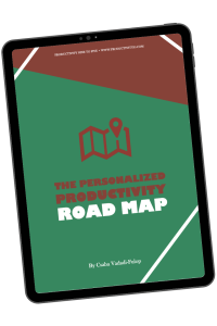 Personalized Productivity Road Map