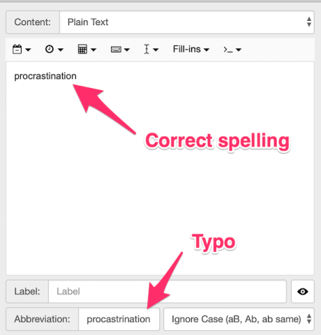 TextExpander vs PhraseExpress:  correcting spelling mistakes