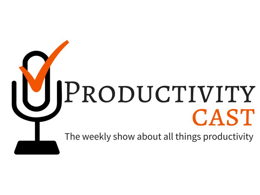 ProductivityCast Logo with tagline