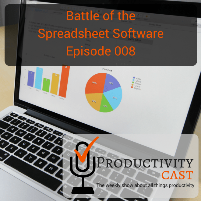 008 - Battle of the Spreadsheet Software - ProductivityCast