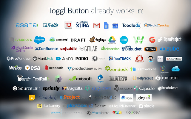 Toggle Button Chrome Extension Time Tracker