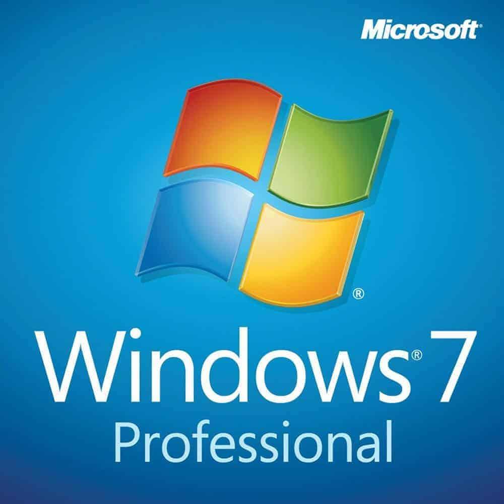 windows 7 professional 32