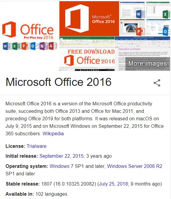 download microsoft office 2016 free crack
