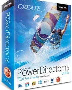 Cyberlink PowerDirector Crack Ultimate + Activation Key Latest