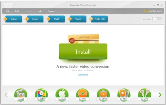 freemake gold pack video converter