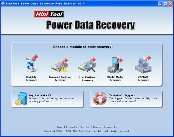 MiniTool Power Data Recovery V8 1 Crack License Key Full