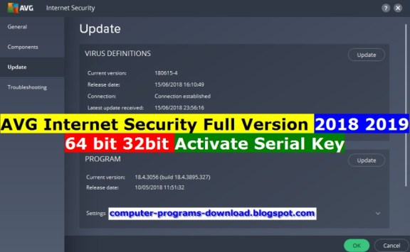 AVG internet security 2021 Serial key Free Download