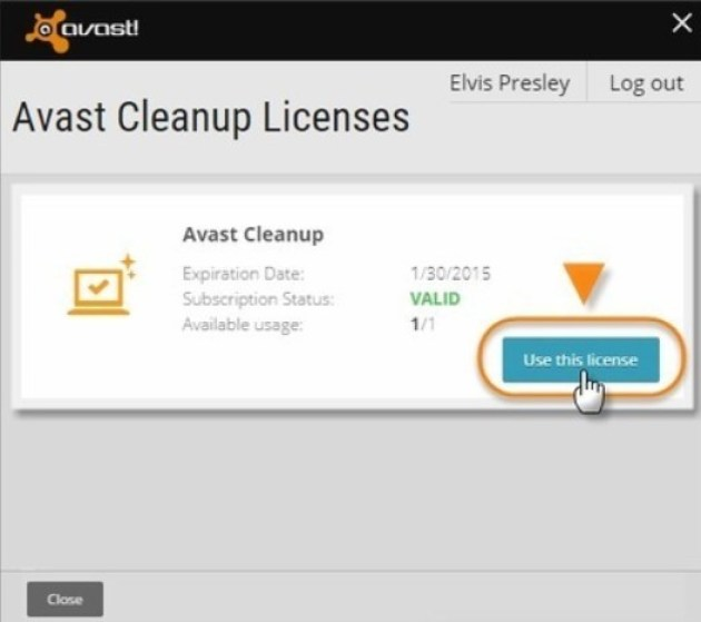 free avast android license key