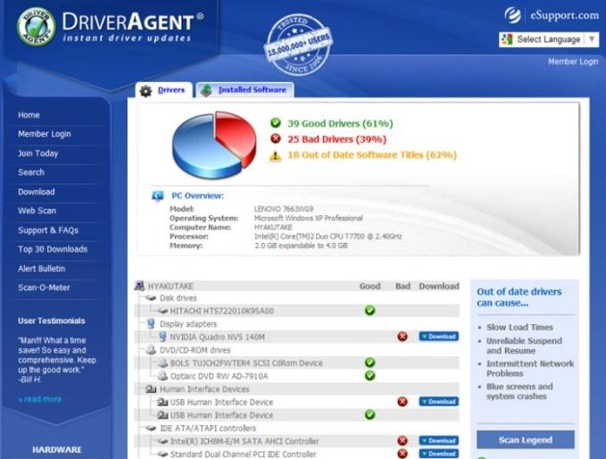 Ключ driver agent