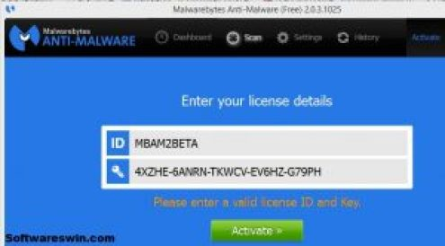 Malwarebytes 3.0.6 Beta key