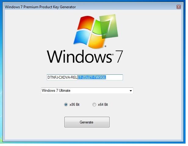 windows 7 product key generator 32 bit