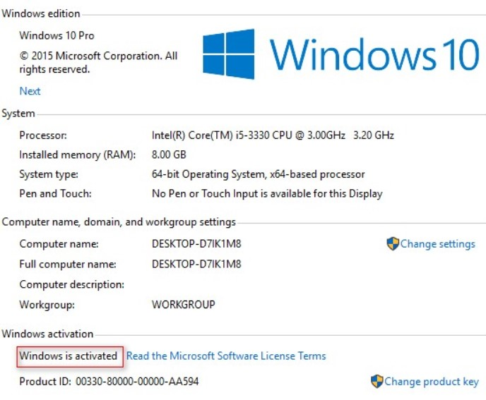 Working Keys - Windows Product Key and Activation Guide